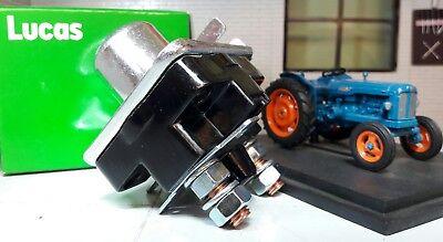 Fordson Major Super Dexta Tractor de energía Encendido De Arranque Interruptor De Solenoide SRB335