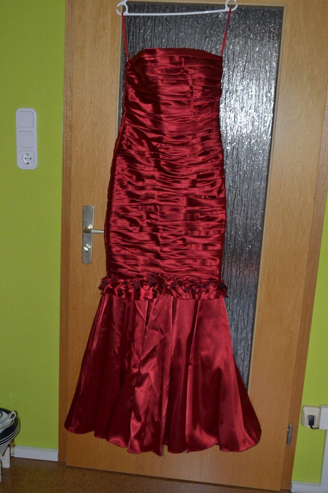 Juju    & Christine Gr. 36 Ballkleid Abendkleid Mermaid rot Stola Brautkleid NEU | Um Zuerst Unter ähnlichen Produkten Rang  | Verrückte Preis  b16f36