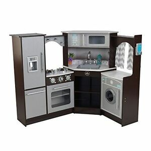 Kidkraft 53365 Ultimate Corner Play Kitchen With Lights and Sounds ...