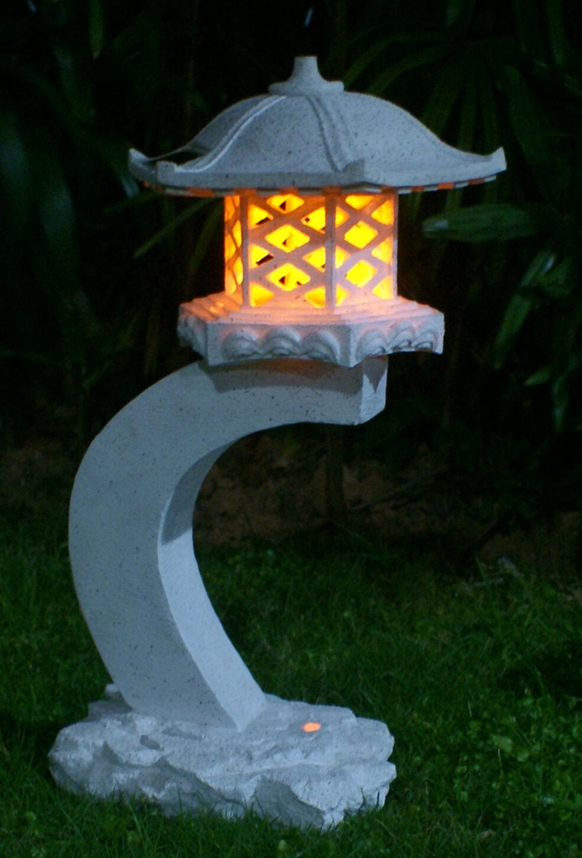 24height landscape lighting japanese style lantern solar garden lamp
