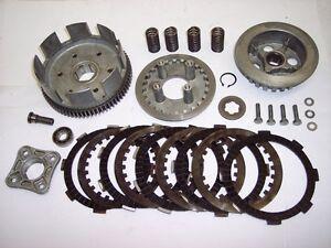 74-78-Honda-CL-CB-Sl-TL-XL-125-100-CL125-CB125-SL125-TL125-Plaques-Panier-Clutch
