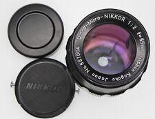 Nikon Ultra-Micro-Nikkor 55mm f2  #551004 ......... Very Rare !!