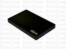 """CnMemory 6,35cm 2,5"""" Core USB 3.0 bestückt mit 2000 GB SATA Festplatte schwarz"""