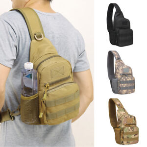 Mens-Tactical-Military-Sling-Chest-Pack-Messenger-Shoulder-Camo-Molle-Travel-Bag