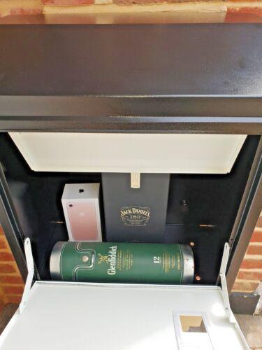 LETTER BOX  WEATHERPROOF LOCKABLE LARGE SECURE PARCEL STYLISH PARCELBOX