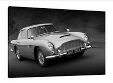 Aston Martin DB5 - 30x20 Inch Canvas Art - Framed Picture Poster Print