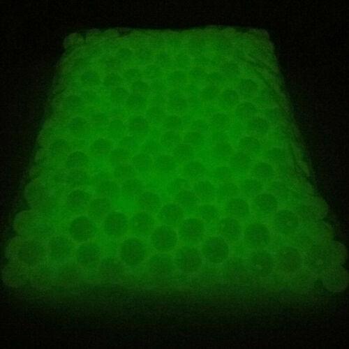 Making Jewelry Dark in Round Luminous 100-500Pcs 4~14mm DIY Beads the Glow