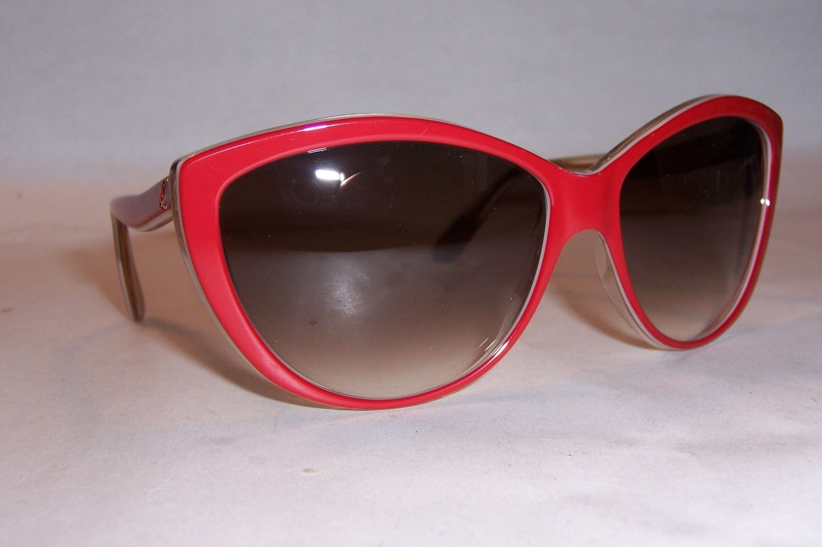 e1bc8545626a Buy Alexander McQueen Am 4147 S F 13 Red Plastic Cat Eye Sunglasses ...
