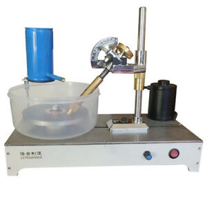 Details about 110~240V Gem Faceting Machine Jewelry Rock Polisher Jade Flat  Grinding 0-1800RPM