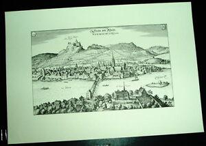 Stein-am-Rhein-alte-Ansicht-Merian-Stich-Druck-1650-Staedteansicht-Schaffhausen