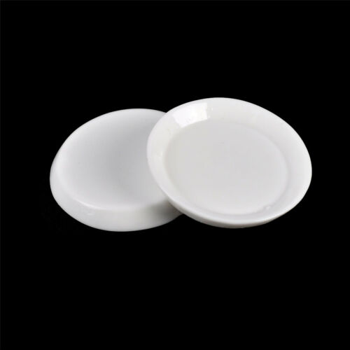 10pcs Dollhouse Miniature Resin Trays Plates Doll Mini Food Dishes Tableware LGV