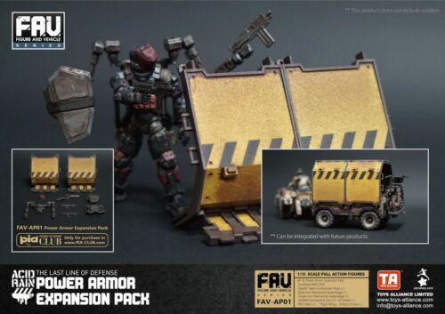 30189 TA ACID RAIN FAV-AP01 Power Armor Expansion Pack 3.75 1//18