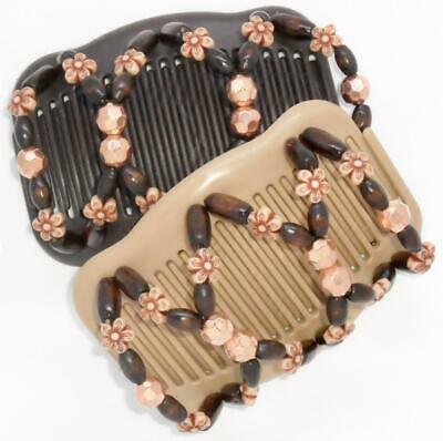 """Quality African Butterfly Combs Angel Wings Hair Clips 4x3.5/"""" US SELLER  S83"""