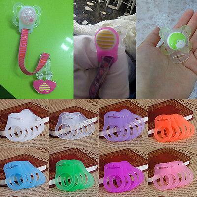 Silikon Ring Taste Schnuller Halter Clip Dummy Adapter Für MAM Stil Super 4