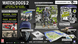 Watch-Dogs-2-Edition-Collector-Return-Of-Dedsec-100-FRA-PlayStation-4-NEUF