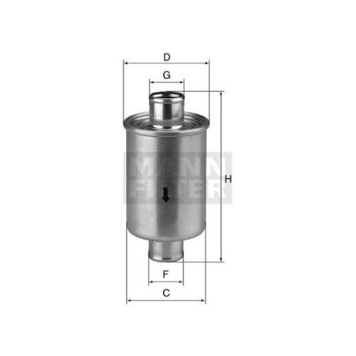 Filtros, arbeitshydraulik Mann-Filter W 76/1