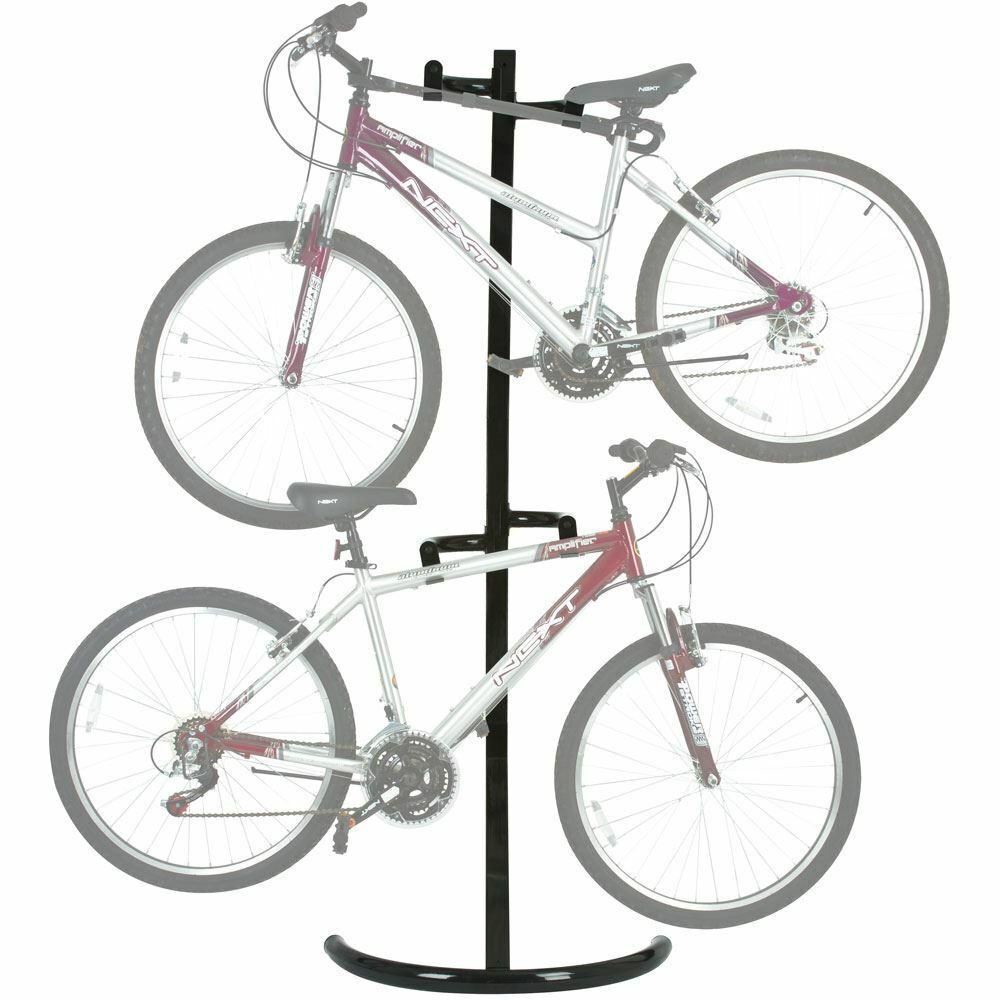 2-Soporte de Bicicleta para bicicletas independiente Sistema de Almacenamiento Garaje Sótano