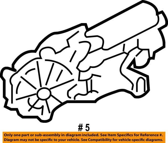 chrysler oem power seat track motor 5135155aa ebay Chrysler 2.4 Engine Diagram chrysler oem power seat track motor 5135155aa