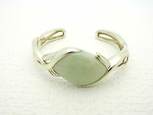 925-Sterling-Silver-Chrysoprase-Cuff-Bracelet-925-WHITNEY-KELLY-China-Signed