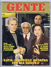 GENTE N. 47, 1985 – Carla Fracci, Raffaella Carrà, Romina Power, Lady Diana