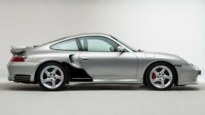 Porsche 996 Turbo >> Details About Fits Porsche 911 996 Turbo Clear Wing Qtr Stone Chip Guard Paint Protection Film