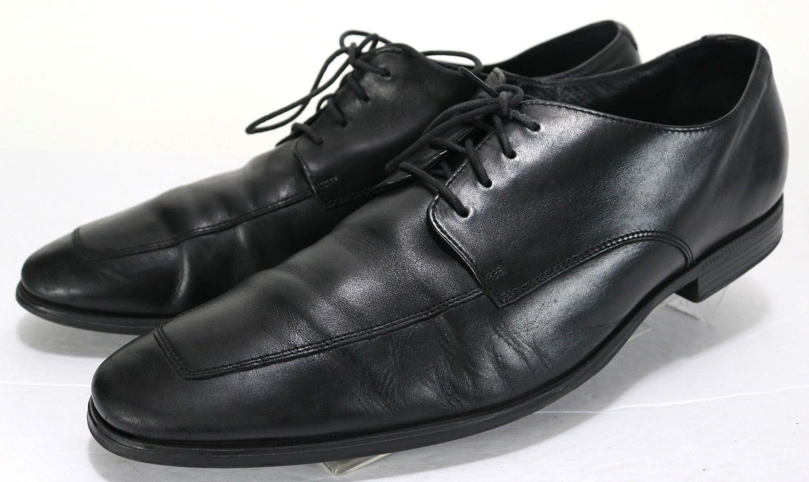 Cole Haan NIK Air  180 Adams Apron Derby Men's Dress shoes Size 12 Leather Black