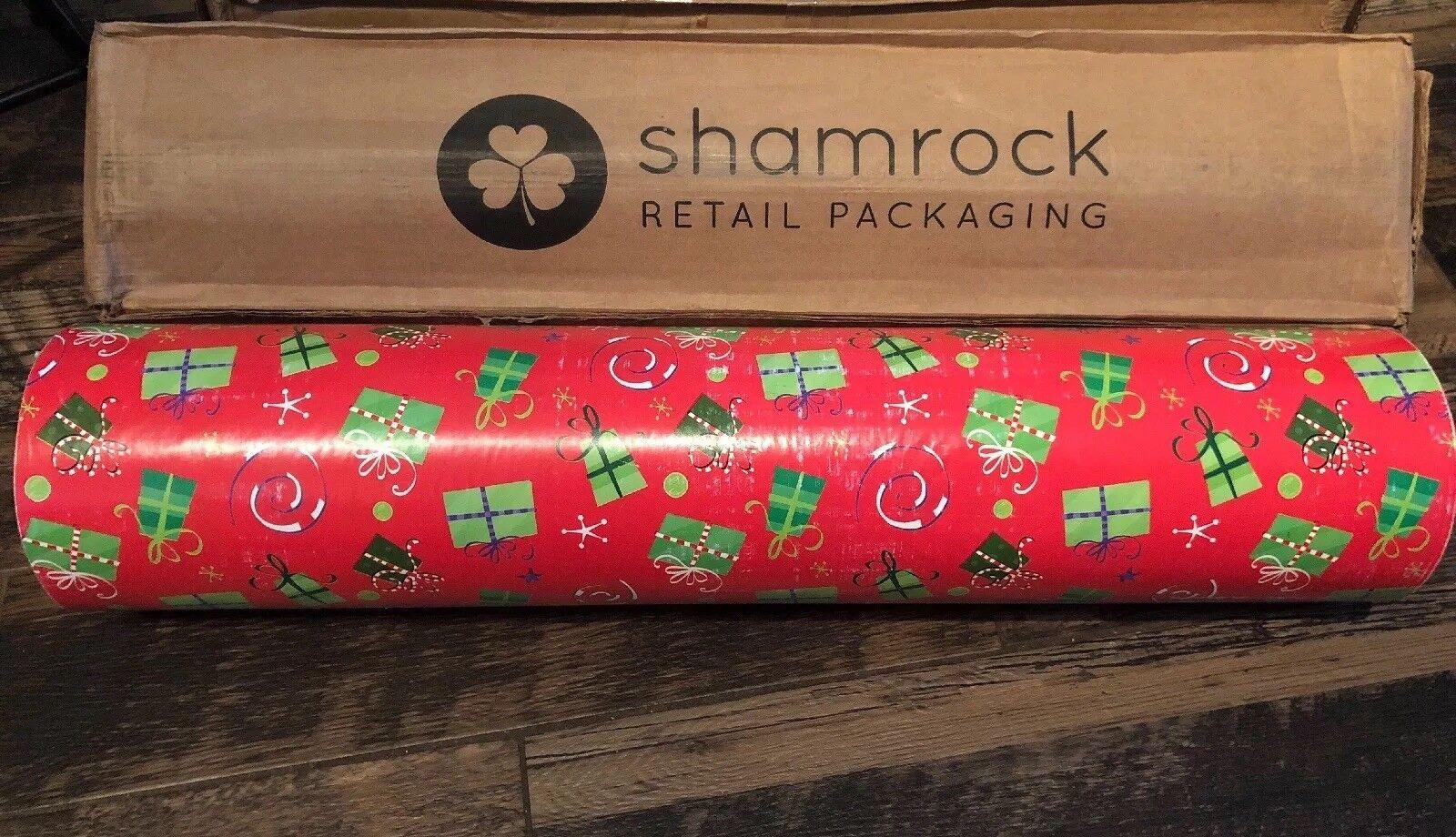 Trèfle Rouge Cadeaux papier cadeau 30  vente au détail 833' Papier d'emballage Rouleau Large USA