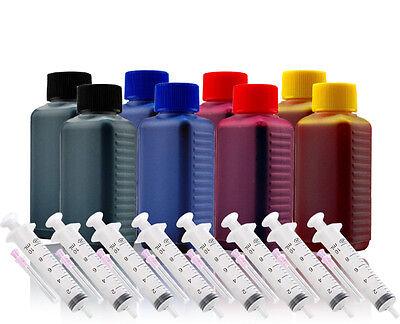 800ml Nachfüll Tinte Nachfüllset für HP Officejet 2600 2620 2622 Refillset
