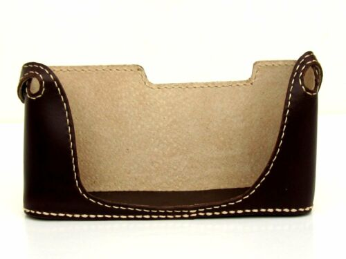 Genuine Leather Half Case for Nikon F2 Brown BRAND NEW