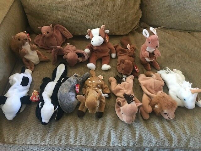 175 Beanie babies w book. You won't find a better better better collection, great price  3f3101