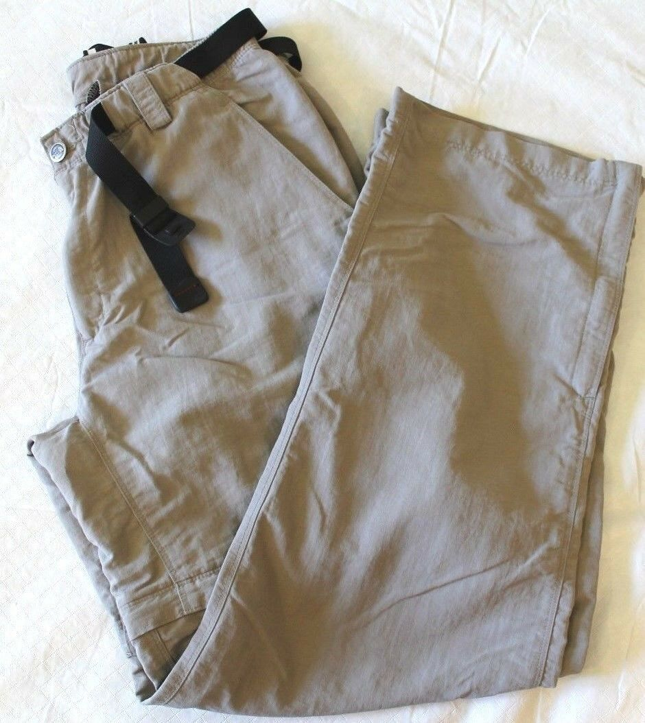 WOMENS congreenible hiking trail nylon PANTS  THE NORTH FACE = SIZE medium = BA22