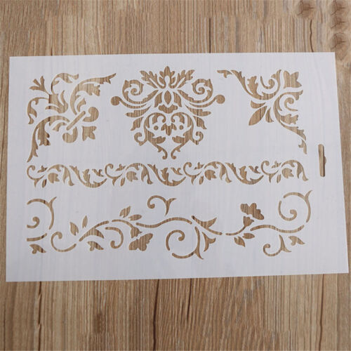 NEW Flower Layering Stencils Scrapbooking Embossing Paper Cards DIY Craft