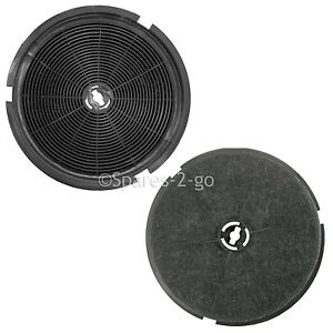 2-x-Cooke-Lewis-CLIH60-C-Carbon-Charcoal-Cooker-Vent-Hood-Extractor-Filters