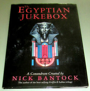 Signed-by-Nick-Bantock-EGYPTIAN-JUKEBOX-Egyptologists-Egypt-Mystic-Psychedelic