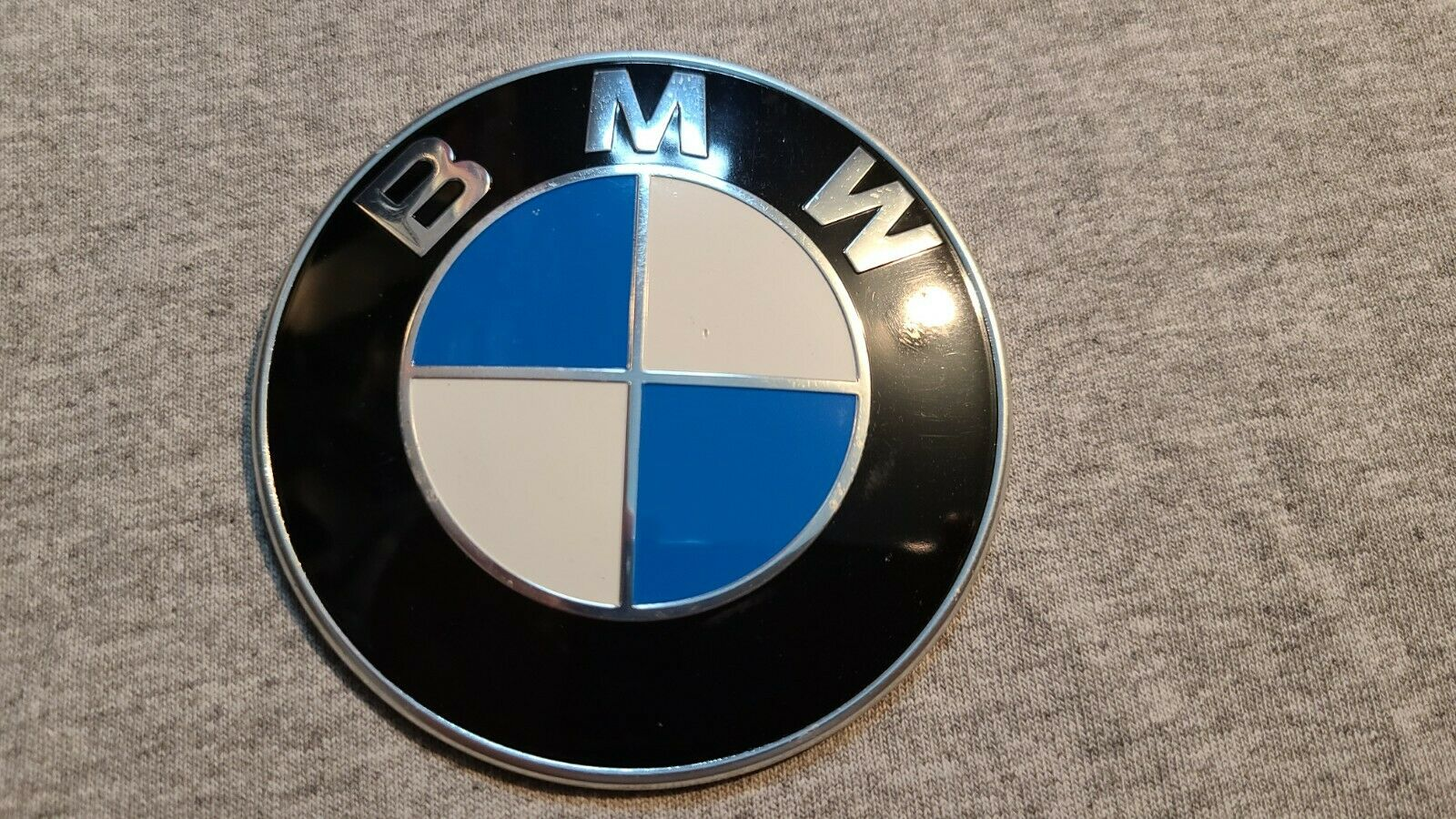 Bmw Emblem 3 Pin Front Hood Rear Truck Logo Badge Decal 728875202 4b4 For Sale Online Ebay