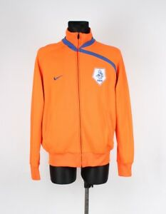 Nike-Pays-Bas-Hommes-Pull-Veste-de-Survetement-Taille-XL