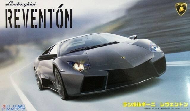Fujimi 125596 Lamborghini Reventon 1 24 modelismo