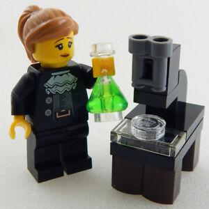 NEW-LEGO-MARIE-CURIE-MINIFIG-figure-minifigure-science-21312-stem-lab-microscope
