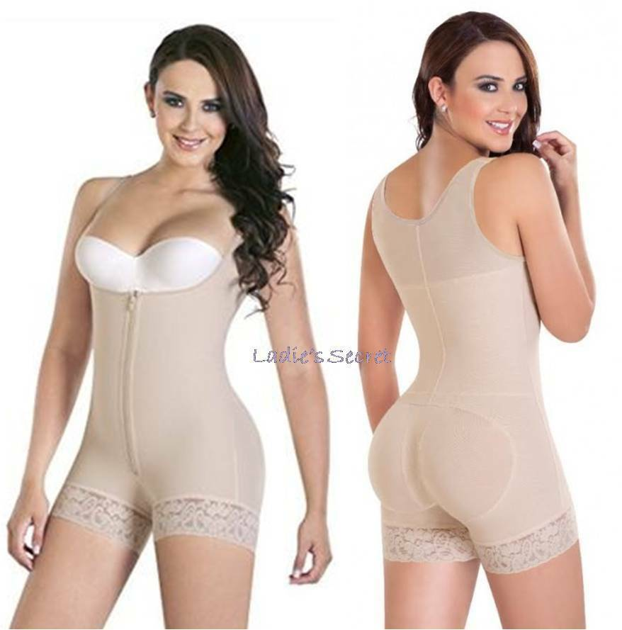 Faja Colombiana Bodyshaper Powernet Butt Lifter High Compression ENFAJATE AS