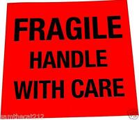 2500 Fragile Label, Big 1.5 Square, Best Price, Free Shipping