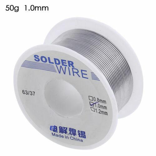 50g 1mm Rosin Core Solder 63//37 Tin Lead Line Flux Soldering Welding Iron Wire