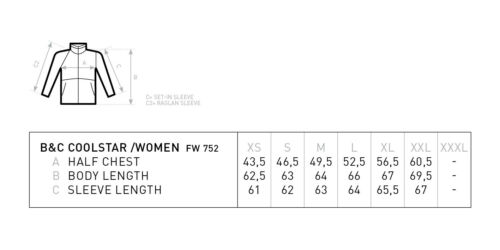 Ladies Plain Thick Jumper B/&C Collection Women/'s Coolstar Sweatshirt FW752