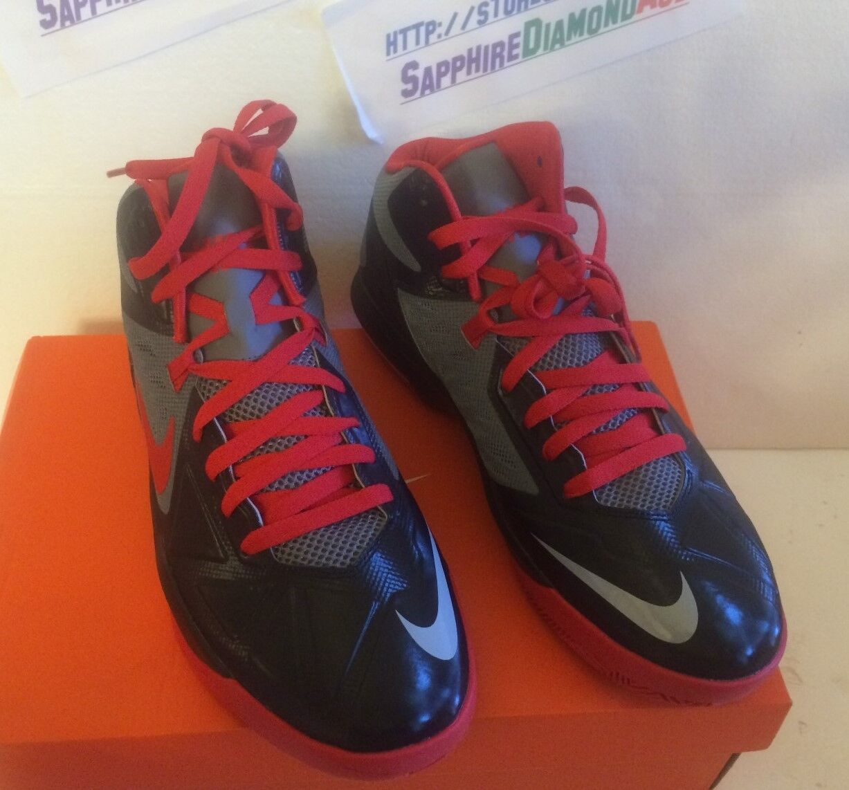 NIKE AIR MAX BODY U US Size 11 Basketball Shoes  model BRAND NEW