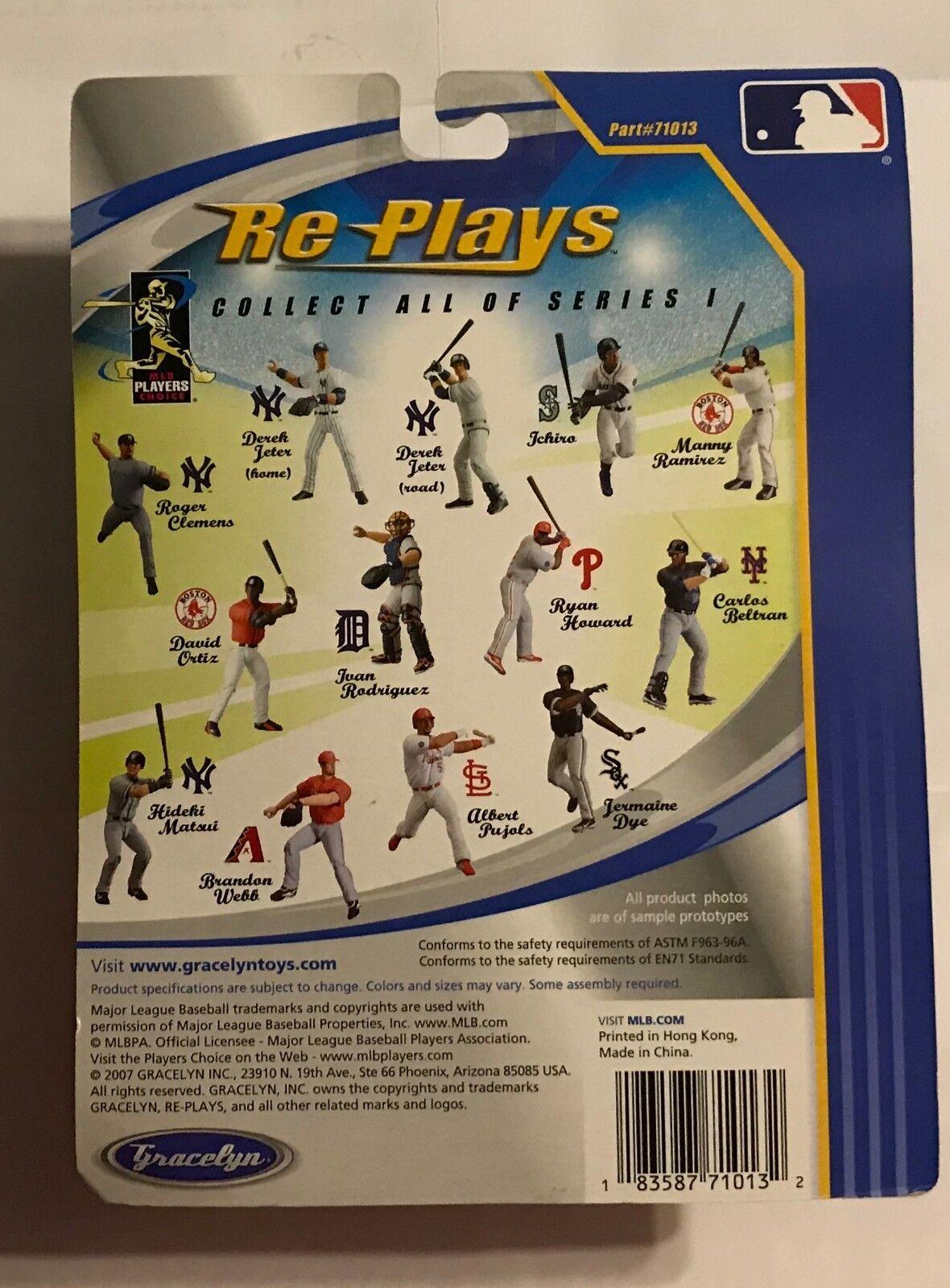 2007 2007 2007 GRACLYN - REPLAYS - SERIES 1 - DEREK JETER 4fdb44