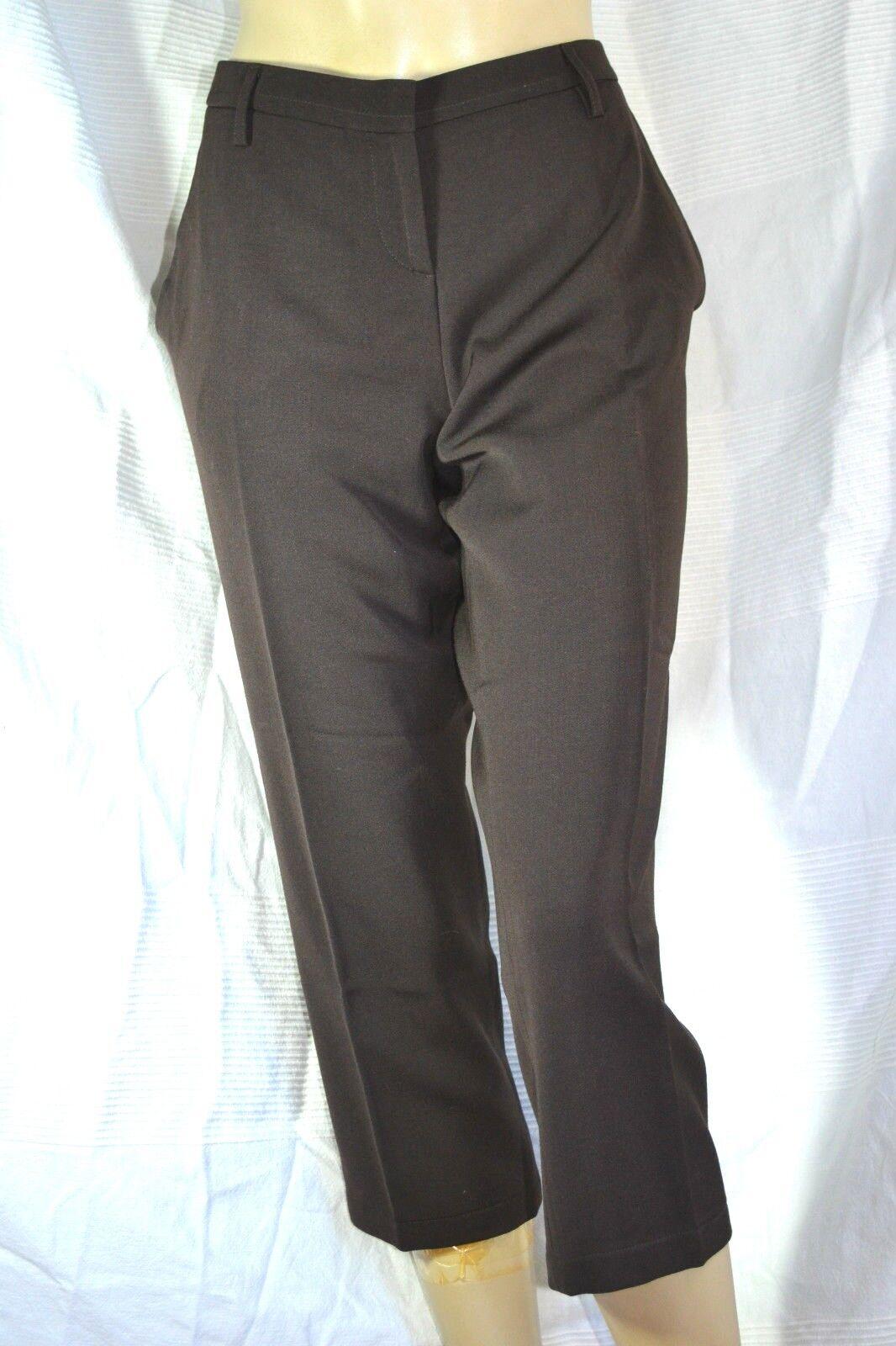 GINGERLY  Designer 3 4 Hose trousers CAPRI edel WOLLE 44 XL neu  NEW
