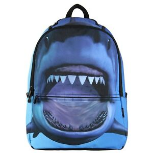 Details about Cool Animal Shark Backpack
