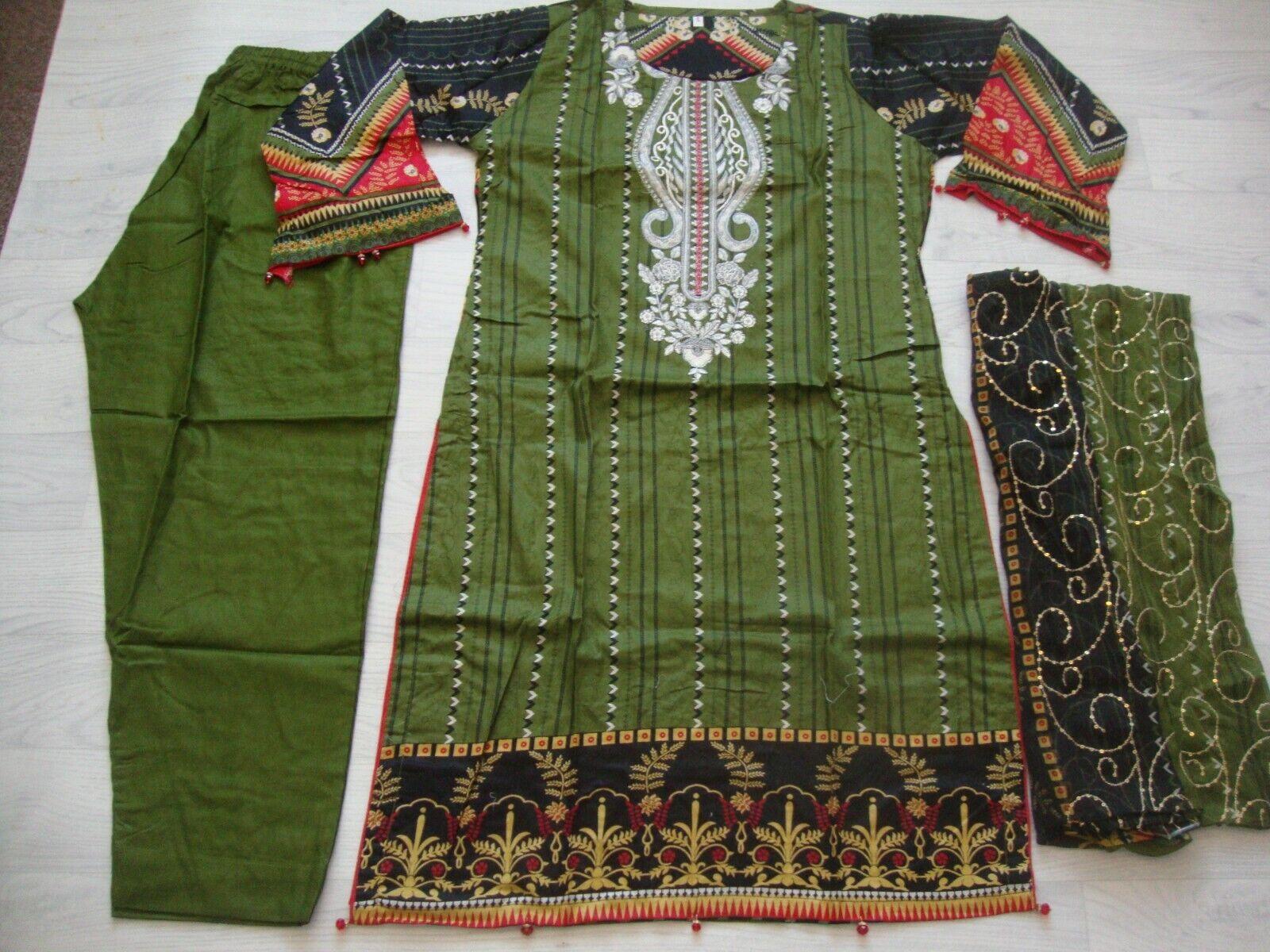 Farasha lawn design Embroidered stitched salwar kameez summer only
