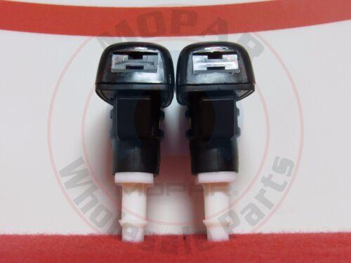 DODGE RAM CHRYSLER SET Of 2 Windshield Washer Nozzles NEW OEM MOPAR