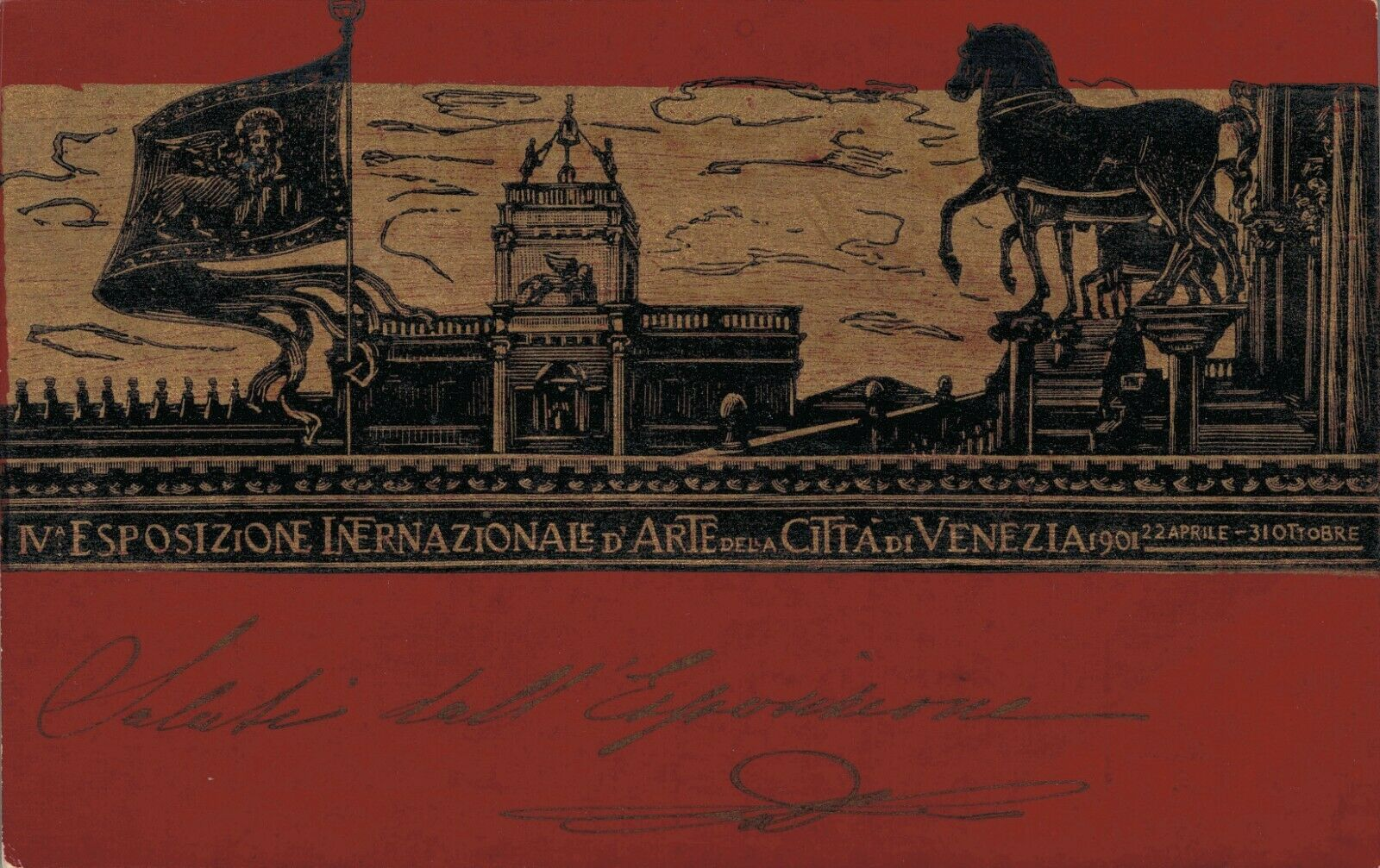 Italy Esposizione Internazionale D'Arte Della Città di Venezia 1901 04.29