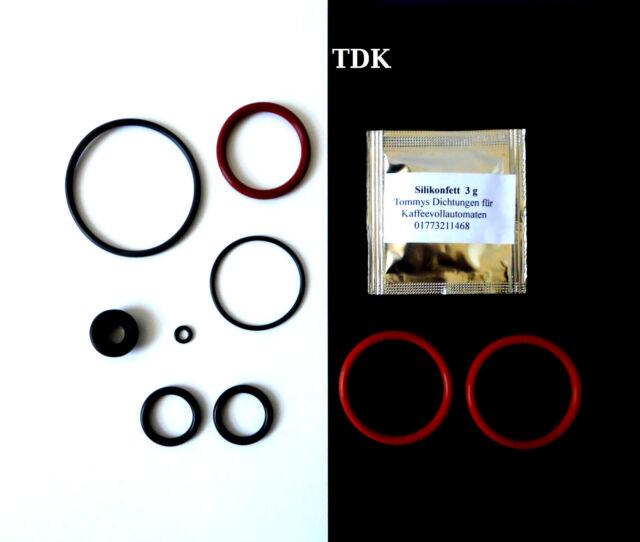 Dichtungen / O-Ringe Wartungsset passend für Krups XP/EA/ Rowenta ES 9-teilig